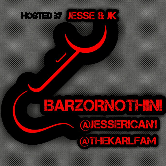 Tonight we have #battlerap legend @AYEVERB on #BARZORNOTHIN #BON with my co-host @JESSERICAN1 and willie D. 10pm est  (213)943 3623<br>http://pic.twitter.com/svEl1Im3NN