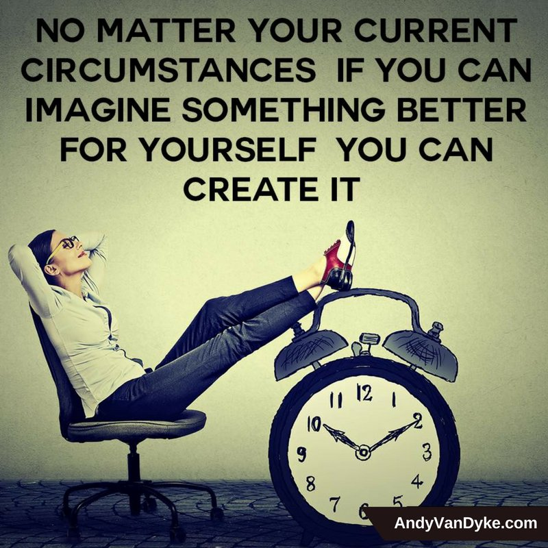 No matter your current circumstances, if you can imagine something better for yourself you can create it!   #BelieveInYourself <br>http://pic.twitter.com/yQLbsBcKfG