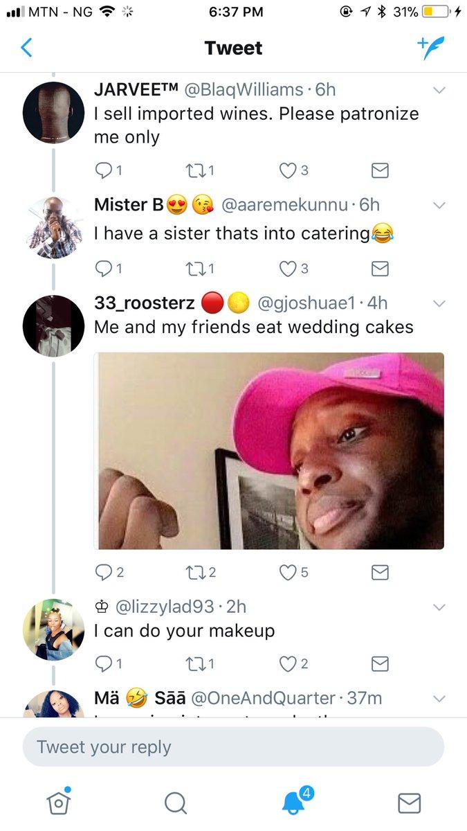 RT @Chydee: Issa wedding. A Twitter wedding party 😍😍😍 https://t.co/7x4uyN4d2x
