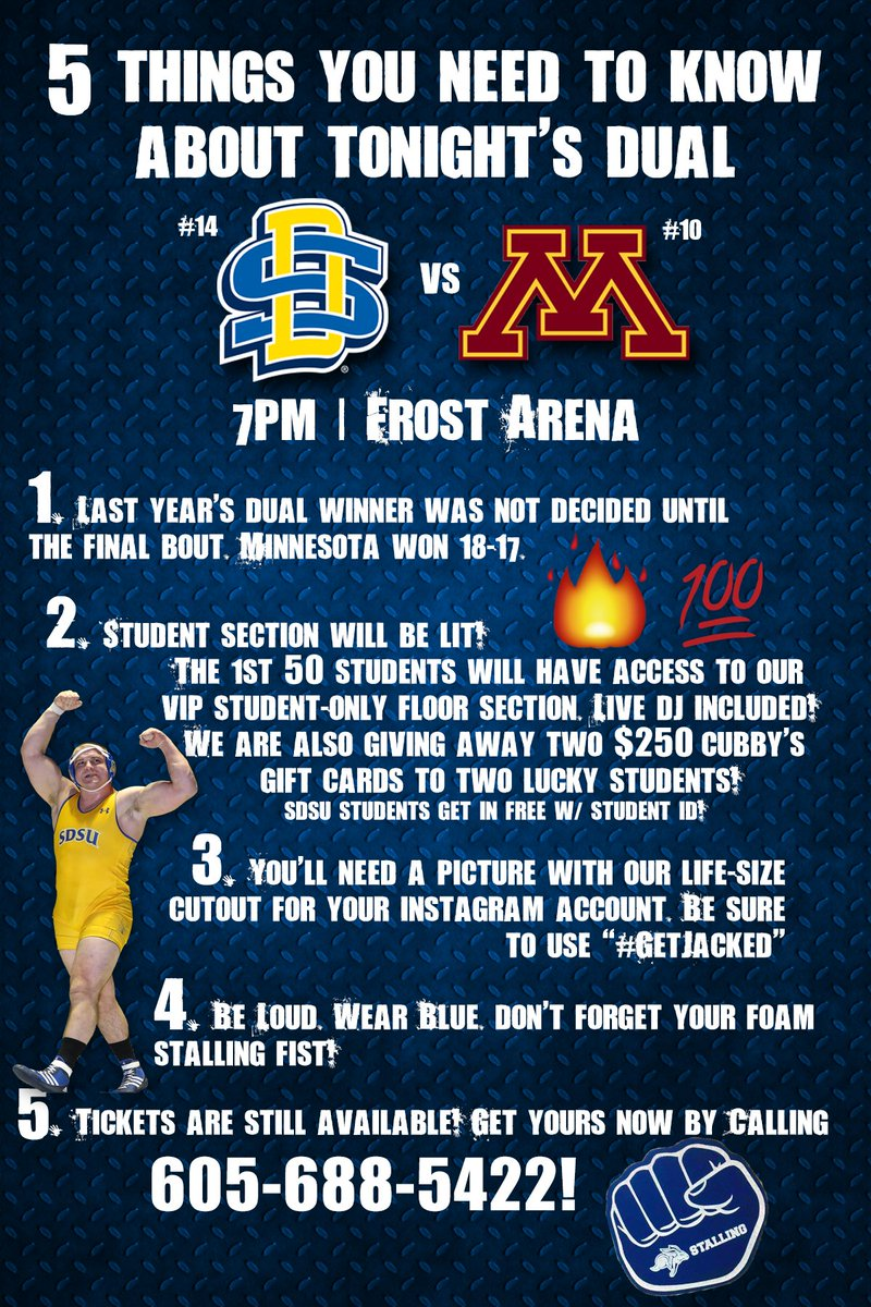 1098 t sdsu - 5 Things You Need To Know About Tonight S Dual Vs Gopherwrestling Getjackedpic Twitter Com Odrmf4p8lc