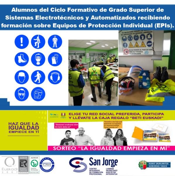 Cifp San Jorge On Twitter La Semana Del 6 Al 10 De
