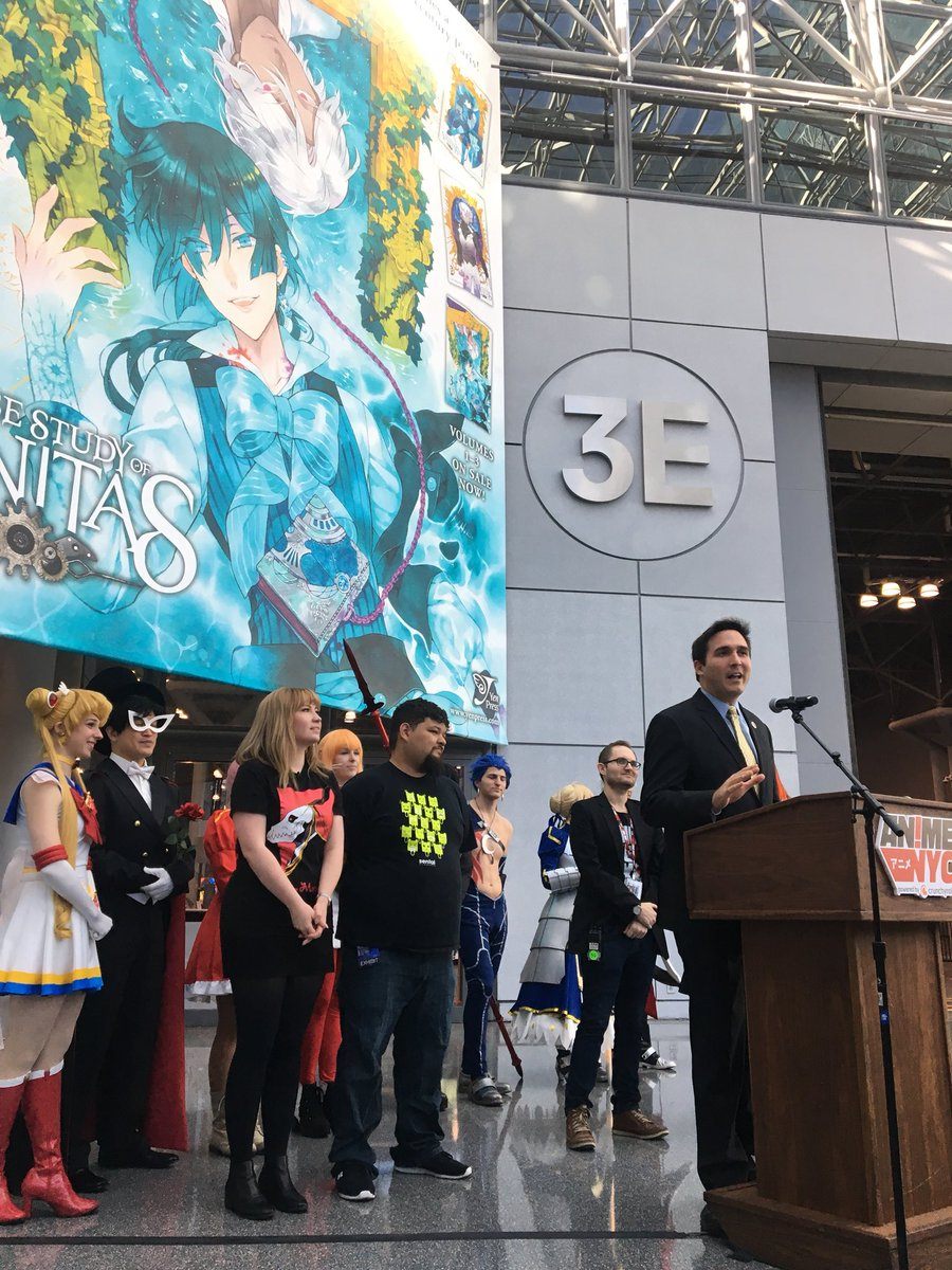 THE KICKOFF OF ANIME WEEKEND IN NYC HAS...