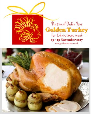 Got #Christmas dinner sorted? This week is #Order your #Golden #Turkey for #Christmas - #foodies make sure you get your v special #GoldenTurkey ordered -THE #verybesttastingturkey for THE #mostimportantmealoftheyear <br>http://pic.twitter.com/8CpdkxShek