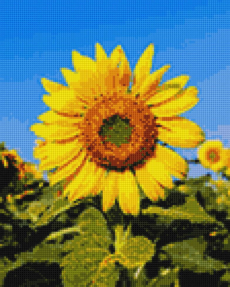 #institch OMG! It's time to cross-stitching on your phone!ふぇ