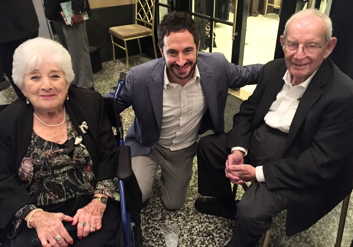 This couple met in the Auschwitz Concentration Camp! And they&#39;ve been married for 70 years! WOW! @TheAaronWolf #strength #love #family #goals #holocaust #Survivor<br>http://pic.twitter.com/R0rZu0b24q