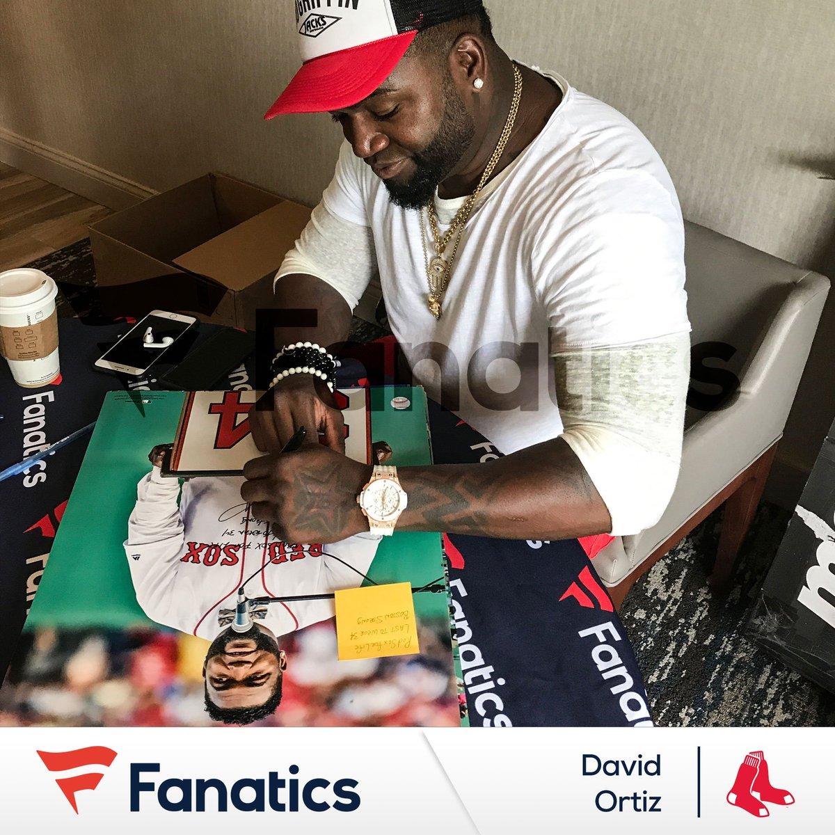Happy Birthday #FanaticsExclusive athlete @davidortiz! #BigPapi is always smiling and we're sure even more so today! #HBDPapi