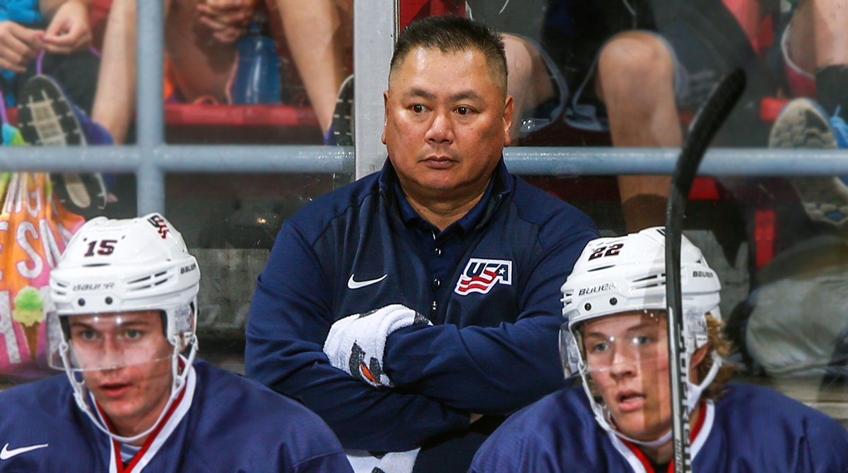 Behindthegl Longtime Athletic Trainer Stan Wong Is Still Going Strong After 16 Years Of Working With Usa Hockey Http Bit Ly 2is4wr9
