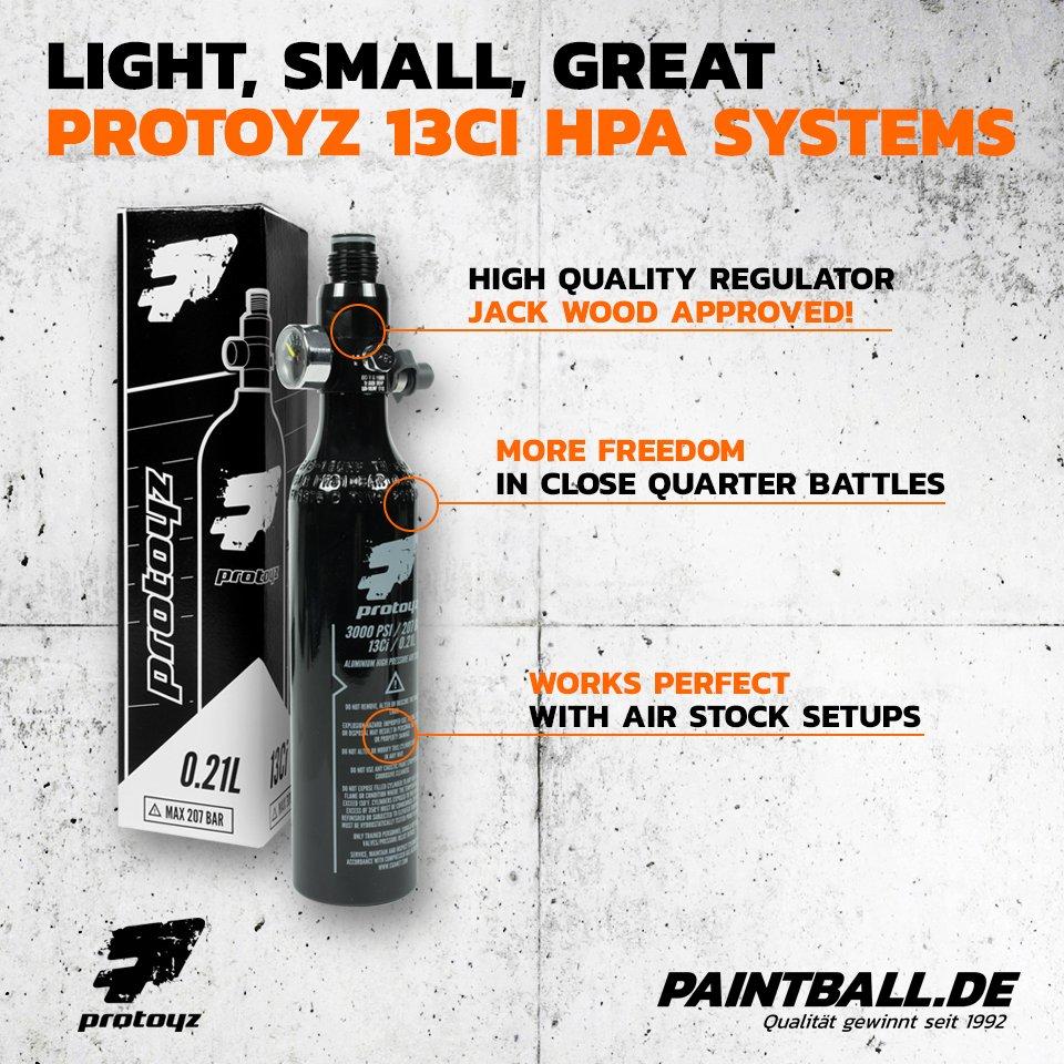 Paintball HP-Flaschen Regulator 3000 PSI 200 Bar