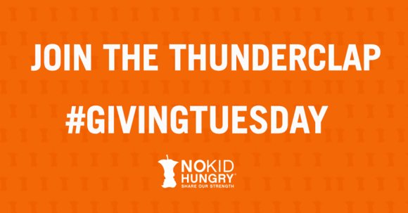 It will take you 30 seconds and really help bring attention to a great cause doing great things!!   I just supported No Kid Hungry&#39;s #GivingTuesday on @ThunderclapIt // @nokidhungry  https:// buff.ly/2A7Ph0T  &nbsp;   #TeamNKH @nokidhungry<br>http://pic.twitter.com/uP8gB8xwfs