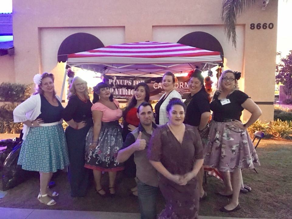 Pinups for Patriots, Inc. California Platoon made their final appearance for the year at Chuy&#39;s Thursday night Cruise &amp; Shine. More:  https:// zurl.co/Le7gx  &nbsp;   #winterclothes #homelessveterans #veterans #standdown #californiapinups #capinups #bakersfieldpinups #helpingheroesheal<br>http://pic.twitter.com/iPABE6V7GI