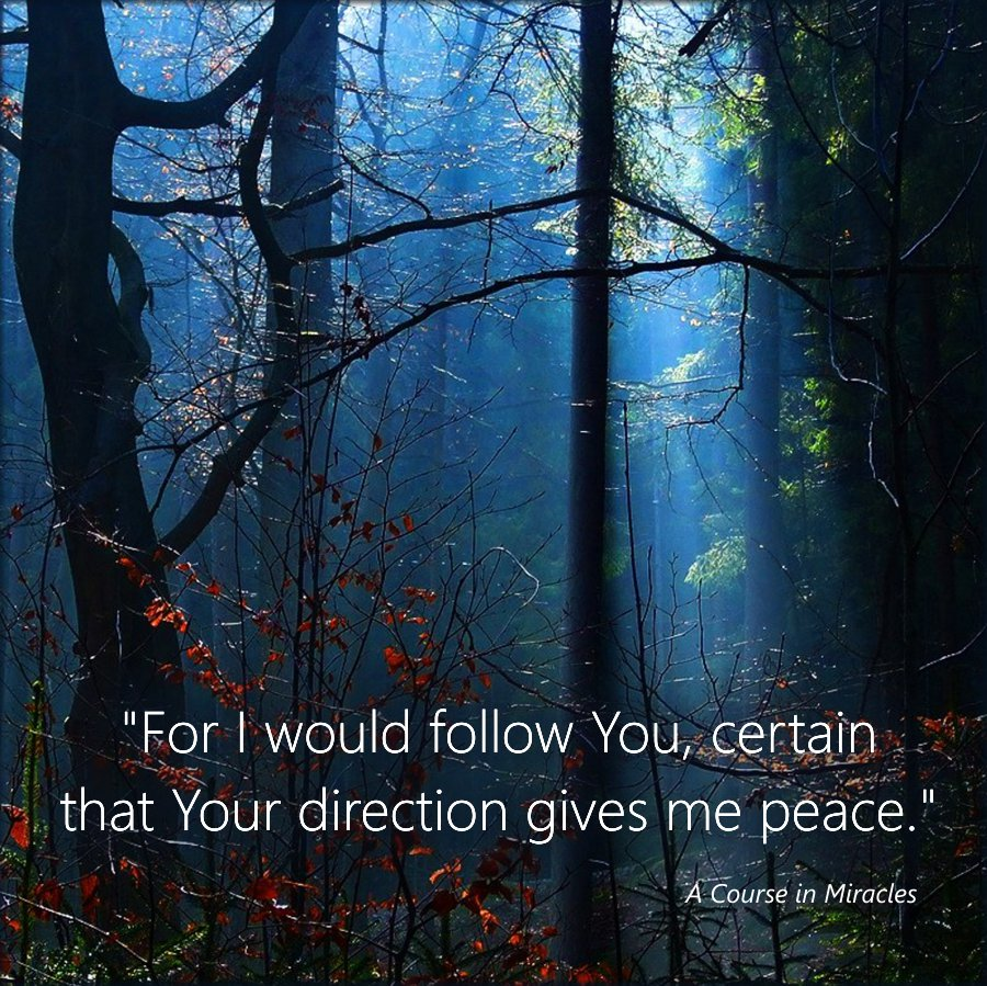 Connect to Love within, whatever form It has for YOU...  &quot;What would You have me do?   Where would You have me go?   What would You have me say, and to whom?&quot; #acim <br>http://pic.twitter.com/TAqbpld1hm