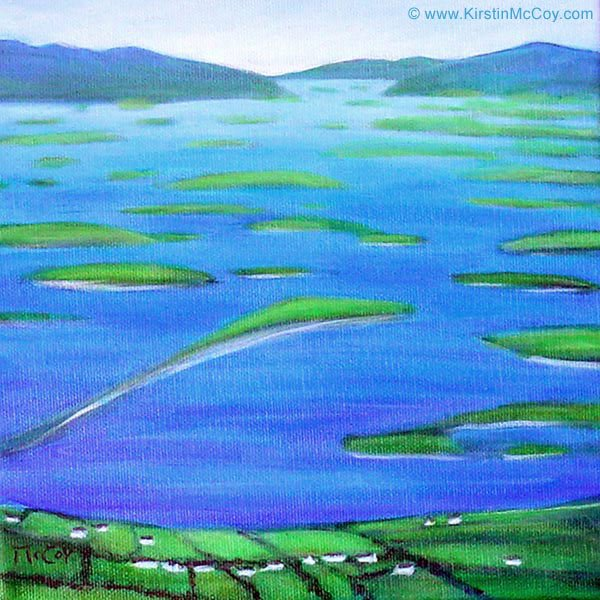 Oil #Painting of #view from Croagh #Patrick #Mountain ...  https://www. kirstinmccoy.com/store/p321/Vie w-From-Croagh-Patrick-Mountain &nbsp; …  / #CroaghPatrick #ClewBay #Ireland #IrishArt<br>http://pic.twitter.com/eyNRAildUo