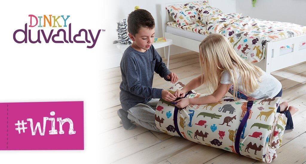 #WIN a Dinky Duvalay - the luxury sleeping bag for kids aged 2 to 8! RT &amp; follow by 27 Nov to enter #competition #FreebieFriday<br>http://pic.twitter.com/TeCdwCe7RG