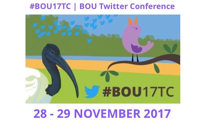 With the success of these Twitter conferences, BOU/@IBIS_journal host our own event, #BOU17TC, next week!  https://www. bou.org.uk/bou17tc/  &nbsp;   Tune in to Twitter on 28 &amp; 29 Nov and follow the event tag #BOU17TC for live presentations #SciParty <br>http://pic.twitter.com/TmuHmIye2s