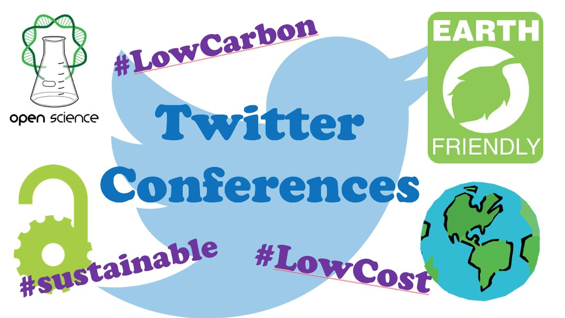 Twitter conferences are GREEN! And they&#39;re not only low carbon (carbon free for many particpants) but also free to take part and follow. Twitter conferences will become more common as more socities seek to engage their commnunity on a more global level #SciParty <br>http://pic.twitter.com/ipP3uWGy0h