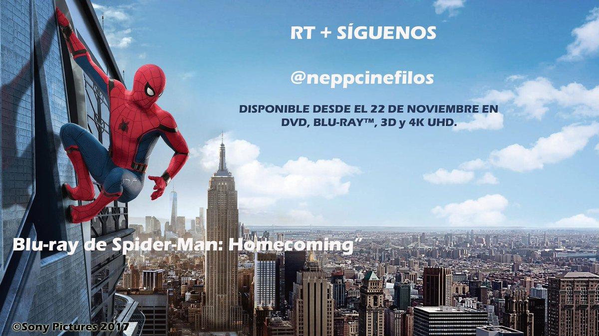 Comenzamos la semana recordando este pedazo de #Sorteo #SpiderManHomecoming a la venta desde este miércoles.