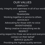 Know us by our values. St. Vincent and Sarah Fisher Center...serving since 1844.