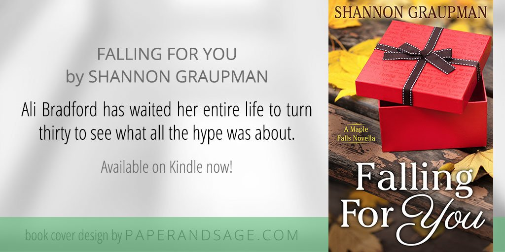 Christa holland paperandsage twitter bookcover for falling for you by shannongraupman httpsamazon falling you maple falls book ebookdpb076h768jg picittersewrufzc67 fandeluxe PDF