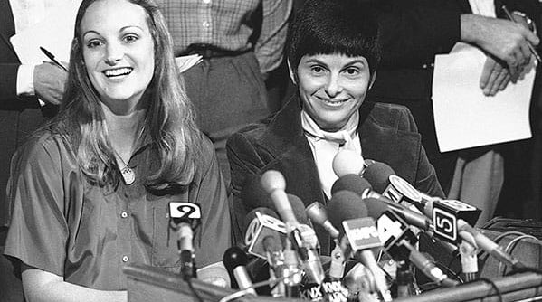 #FlashbackFriday #GloriaAllred befriended #PattyHearst while the heiress was still in prison, and then worked to get her out &quot;a calculated leveraging of fame.&quot; Commuted by Carter then pardoned by Clinton #money #fame #corruption <br>http://pic.twitter.com/7mRbjDik8m