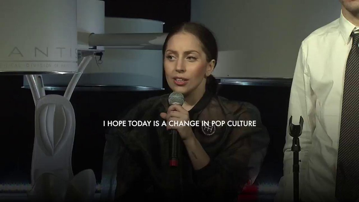 Gaga explains that her love for helping...