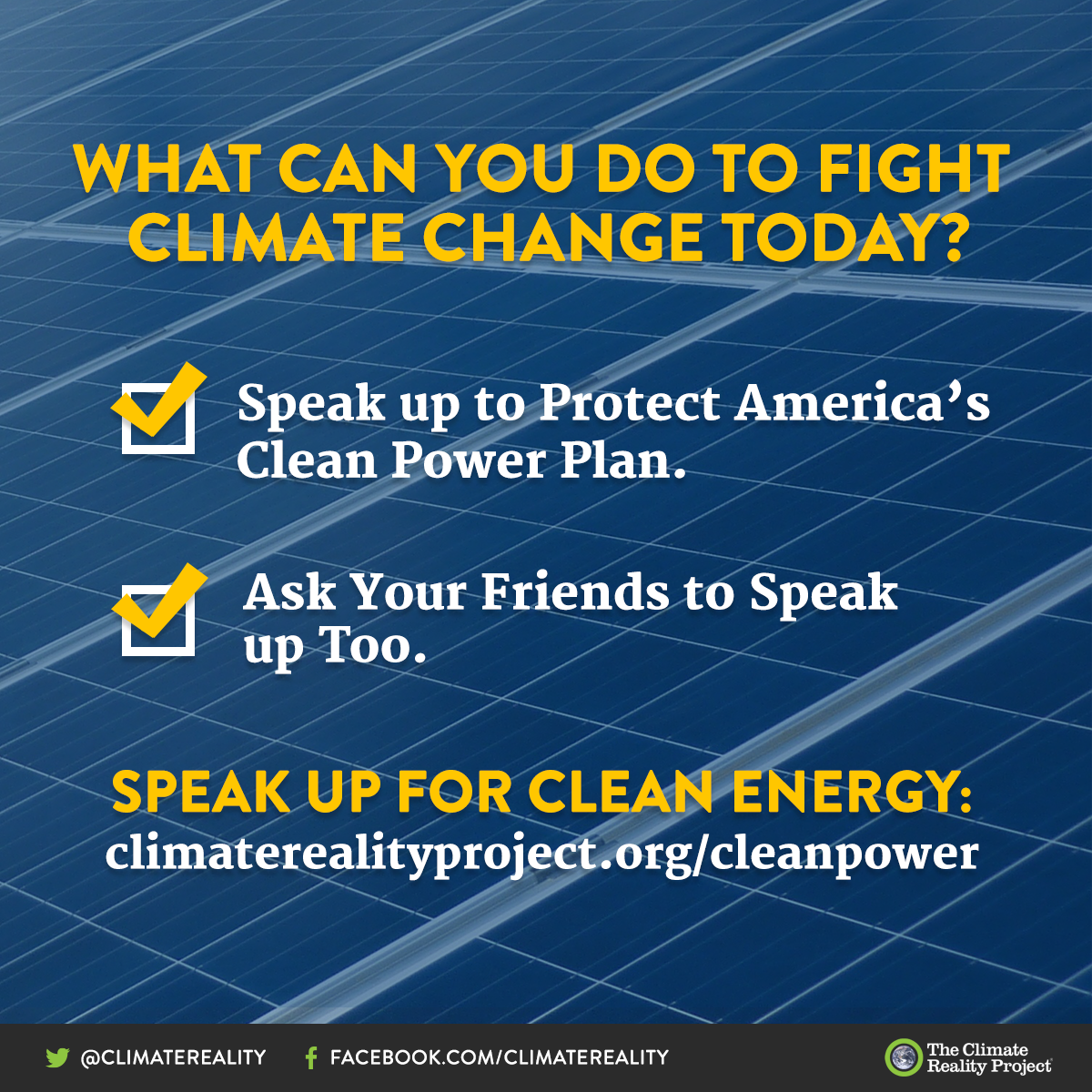"""Say """"no"""" to the administration's plan to repeal America's Clean Power Plan!  http:// bit.ly/-CleanPower  &nbsp;   #ClimateChange #ProtectCPP<br>http://pic.twitter.com/2Mg0secAIf"""