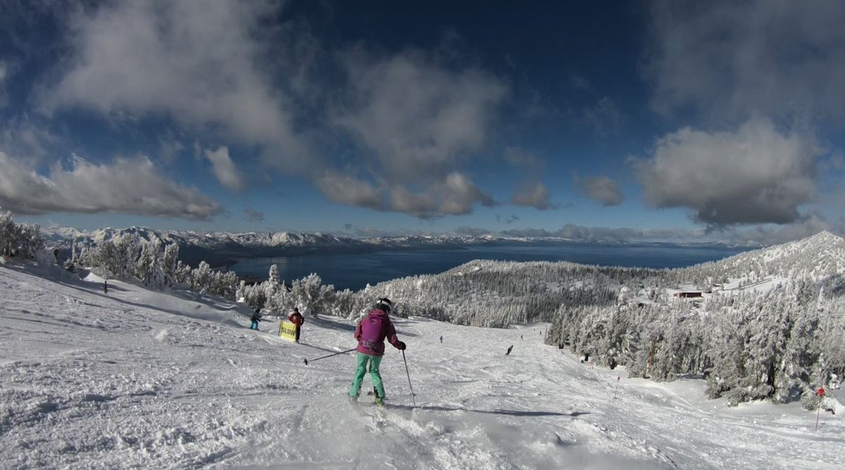 #Tahoe's #Heavenly gets 23 inches of snow for opening day https://t.co/t06dRt1QJf