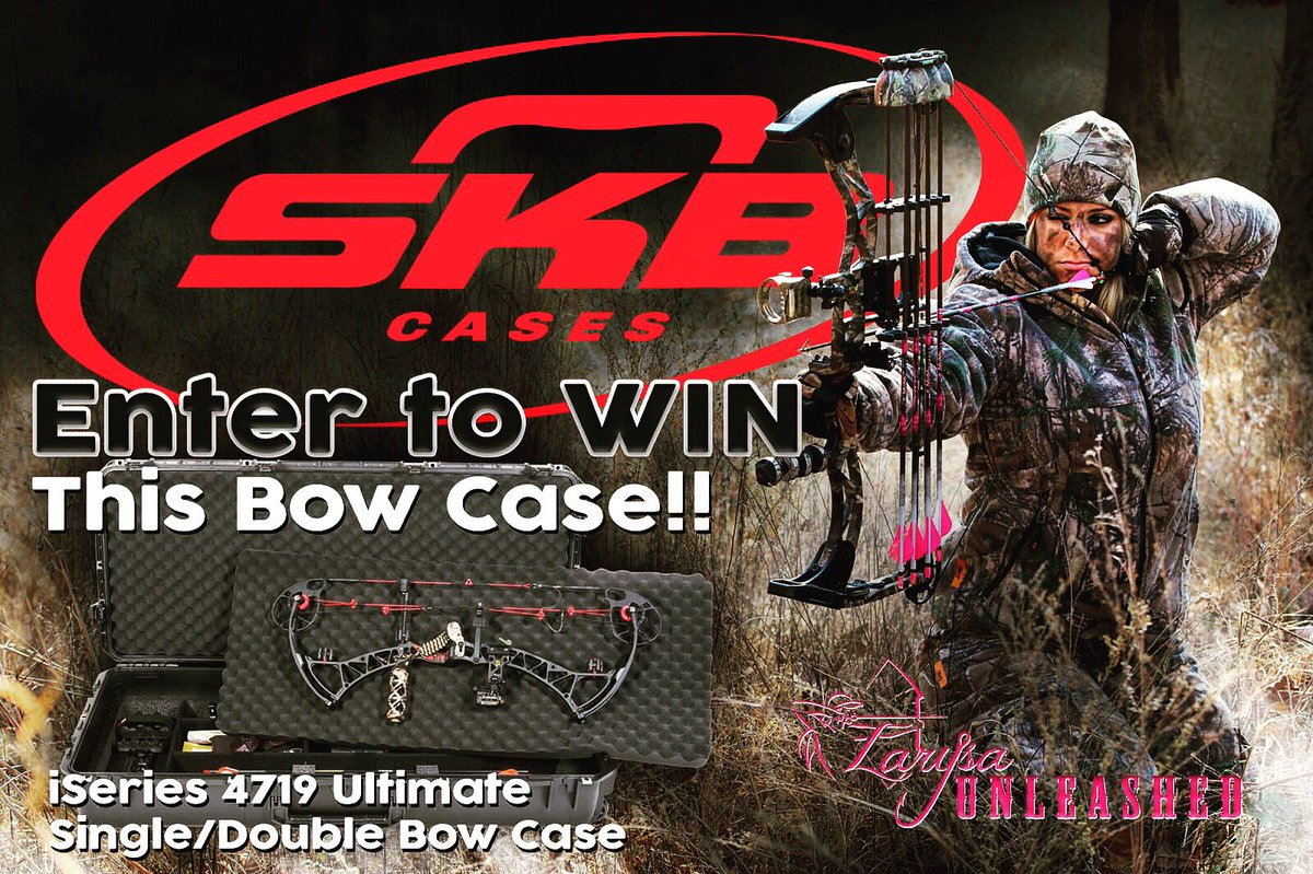 Want to win an #SKB bow case? Head over to the @larysaunleashed Facebook page to enter!  http:// bit.ly/2irLXDA  &nbsp;   #hunting<br>http://pic.twitter.com/AKyOBVRUIr