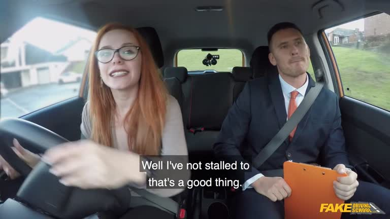 Lesbian Strap Fake Taxi