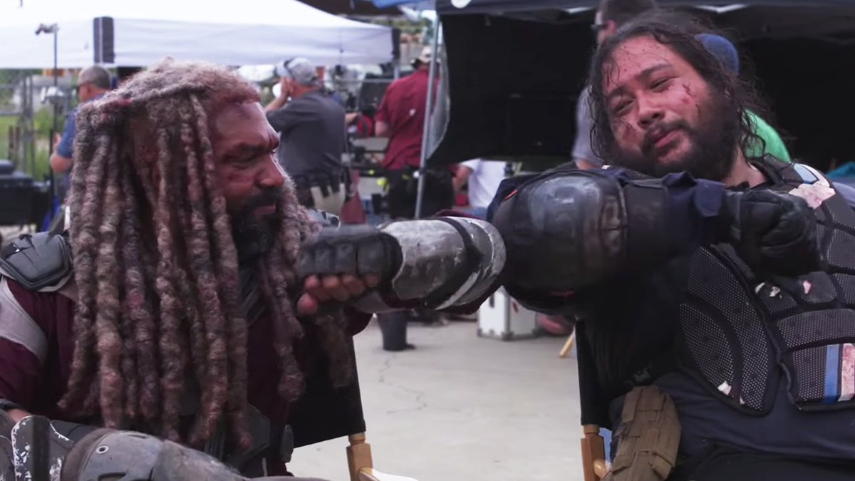 Go behind-the-scenes of Jerry and Zeke's bromance on #TheWalkingDead :  http:// bit.ly/JerryZeke  &nbsp;  <br>http://pic.twitter.com/56gzVLi4Rb