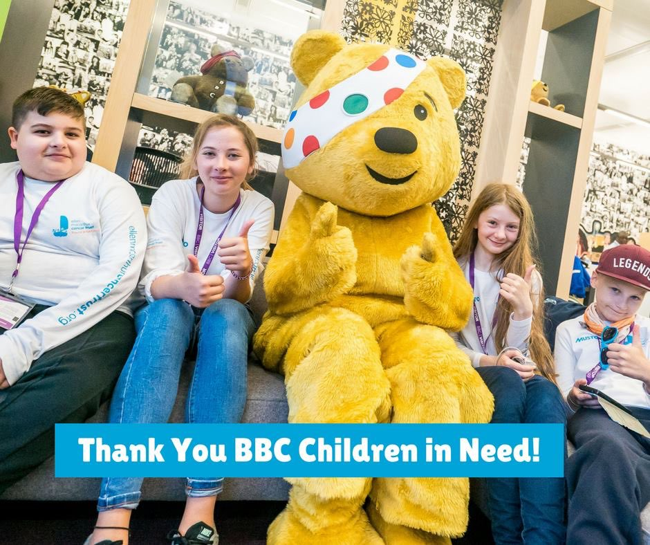 Don't forget to tune in and dig deep tonight for @BBCCiN We are truly grateful to BBC Children in Need Scotland & South West for their support over the last five years. #thankyou #CiN