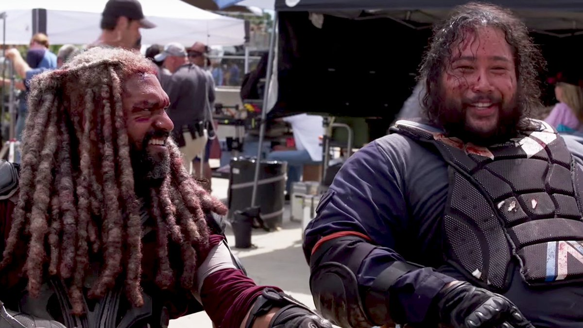 Watch out Rick and Daryl, Zeke and Jerry might have the best bromance on #TheWalkingDead :  http:// bit.ly/JerryZeke  &nbsp;  <br>http://pic.twitter.com/4V32qFvMoL