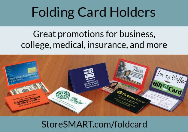 Folding Card Holders - Great promotions for business, college, medical, insurance, and more! #Promote #Promotion #Marketing #Advertising   https:// buff.ly/2zHOFMB  &nbsp;  <br>http://pic.twitter.com/rYDmJ4jnWE