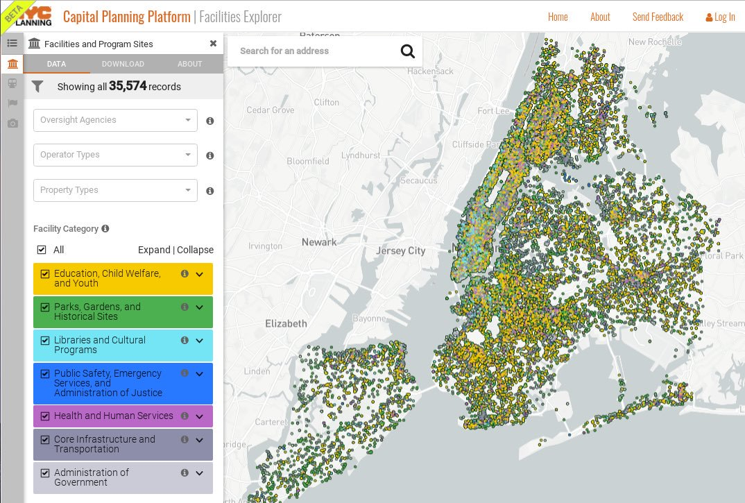 Our easy-to-use interactive map of community facilities &amp; resources just got more powerful! See new features at  http:// on.nyc.gov/2hHEG5w  &nbsp;   &amp; send us feedback! #transparency #opendata <br>http://pic.twitter.com/tMsG3EZVAR