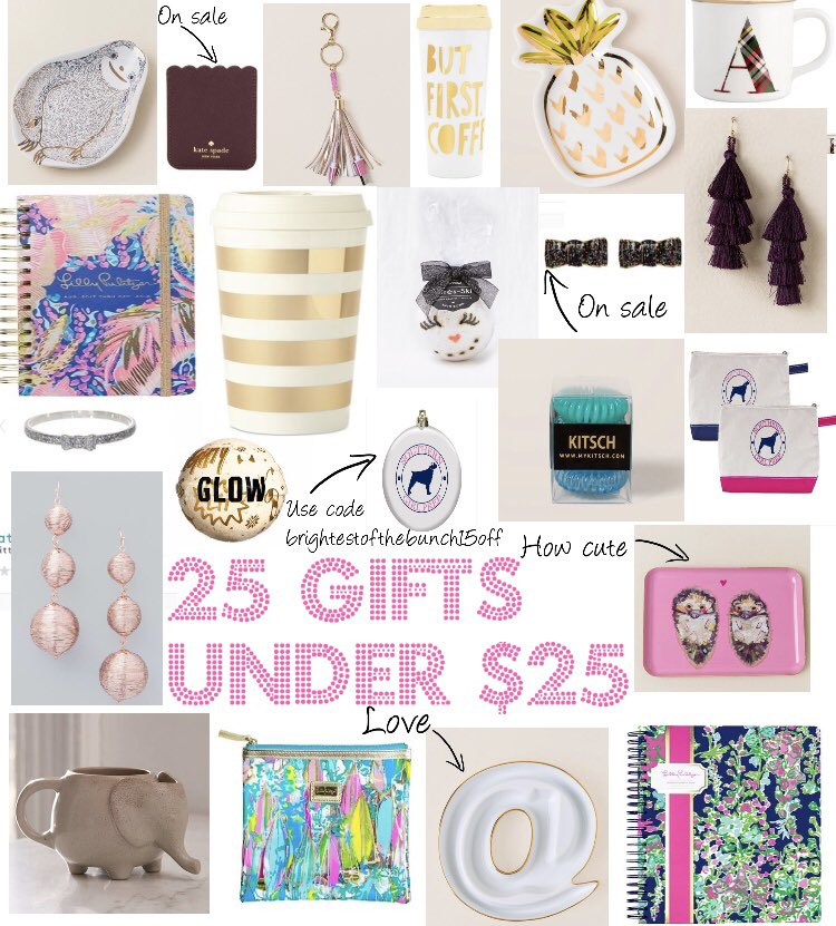 25 Gifts Under $25 are on the blog now! #fblogger @FemaleBloggerRT  http:// thebrightestofthebunch.com/2017/11/17/25- gifts-under-25/ &nbsp; … <br>http://pic.twitter.com/B2JXVgF21z