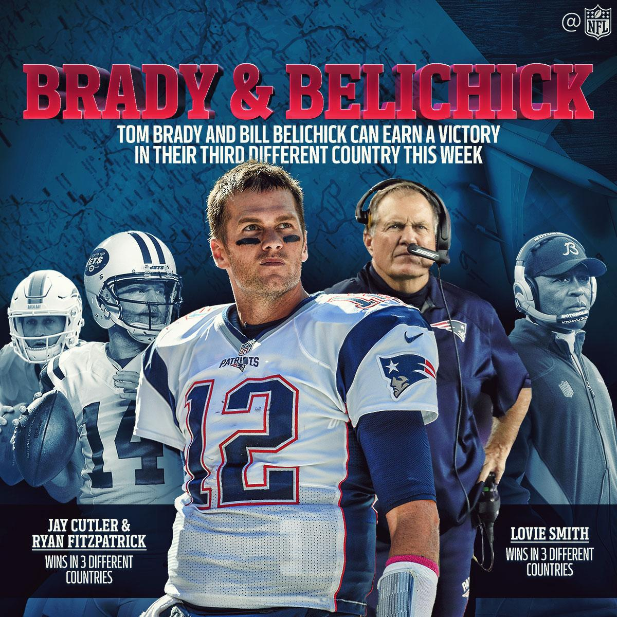 On any field. In any country.  Brady + Belichick are just plain dominant. #GoPats https://t.co/qB1qxeIu80
