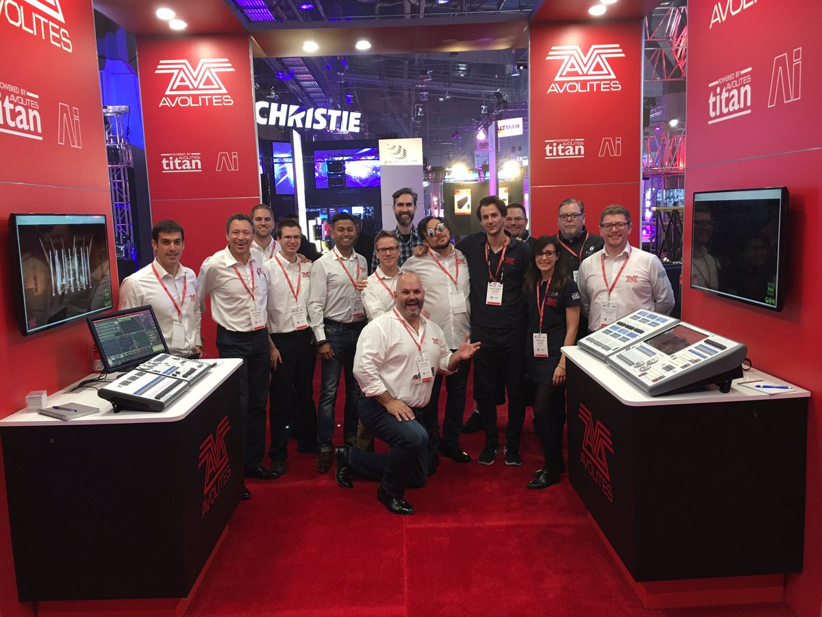 Image result for avolites stand ldi 2017