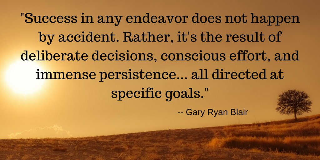 Effort, good decisions, persistence, and goal setting are all qualities of a successful individual. #inspirationalquotes #motivation  #quotes #success #decisions #effort #persistence #successisnoaccident #specificgoals #goal #decisive #goalsetting #deliberate<br>http://pic.twitter.com/p8aExhk7lY