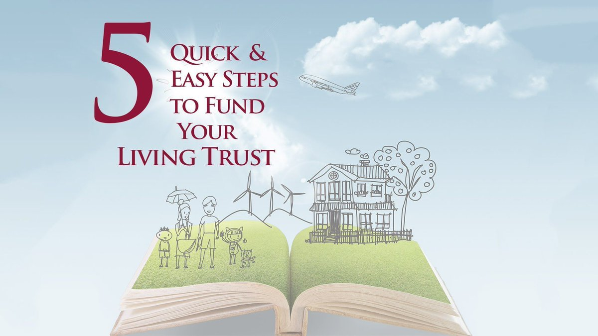 5 Quick and Easy Steps to Fund Your Living #Trust  https:// buff.ly/2AOvobD  &nbsp;   by @TaxWiseToby<br>http://pic.twitter.com/xXRiwwZDTR