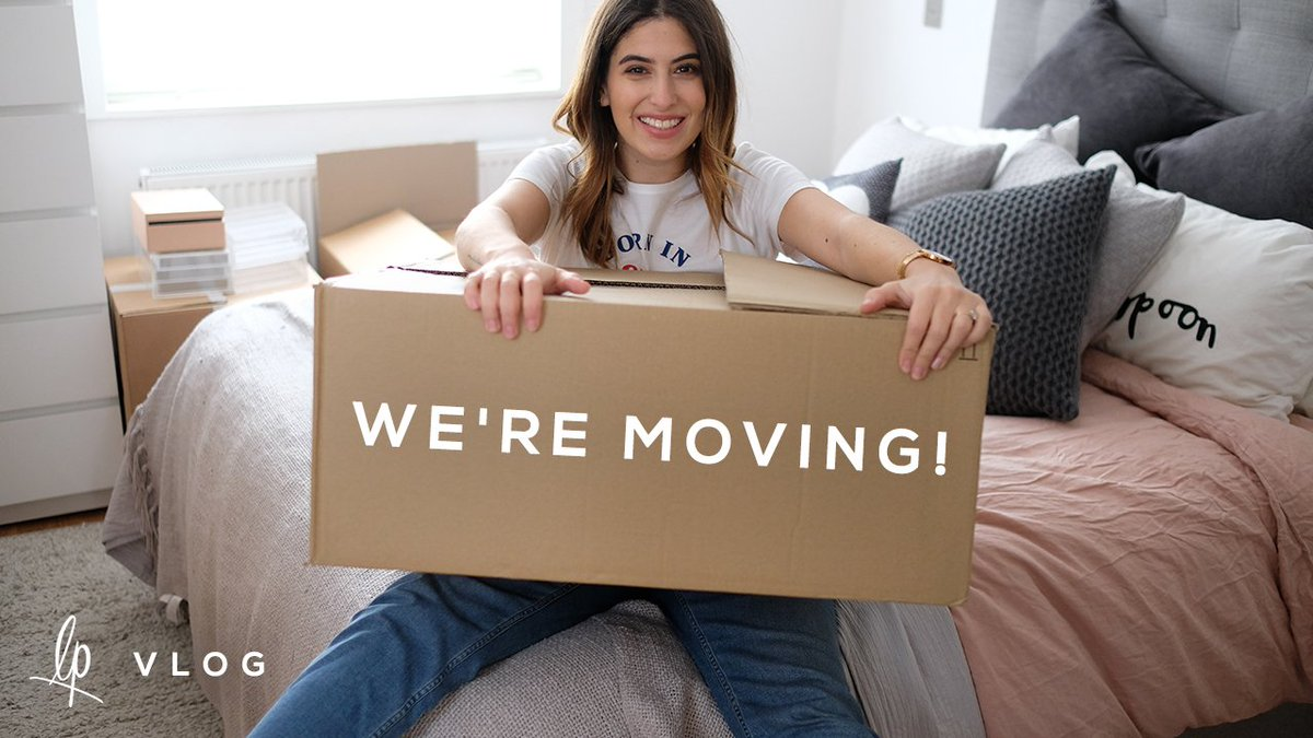 NEW VIDEO! We're moving! Well... we've moved. I vlogged the week to watch back on in years to come & I love it so much https://t.co/YSmJg8hadA
