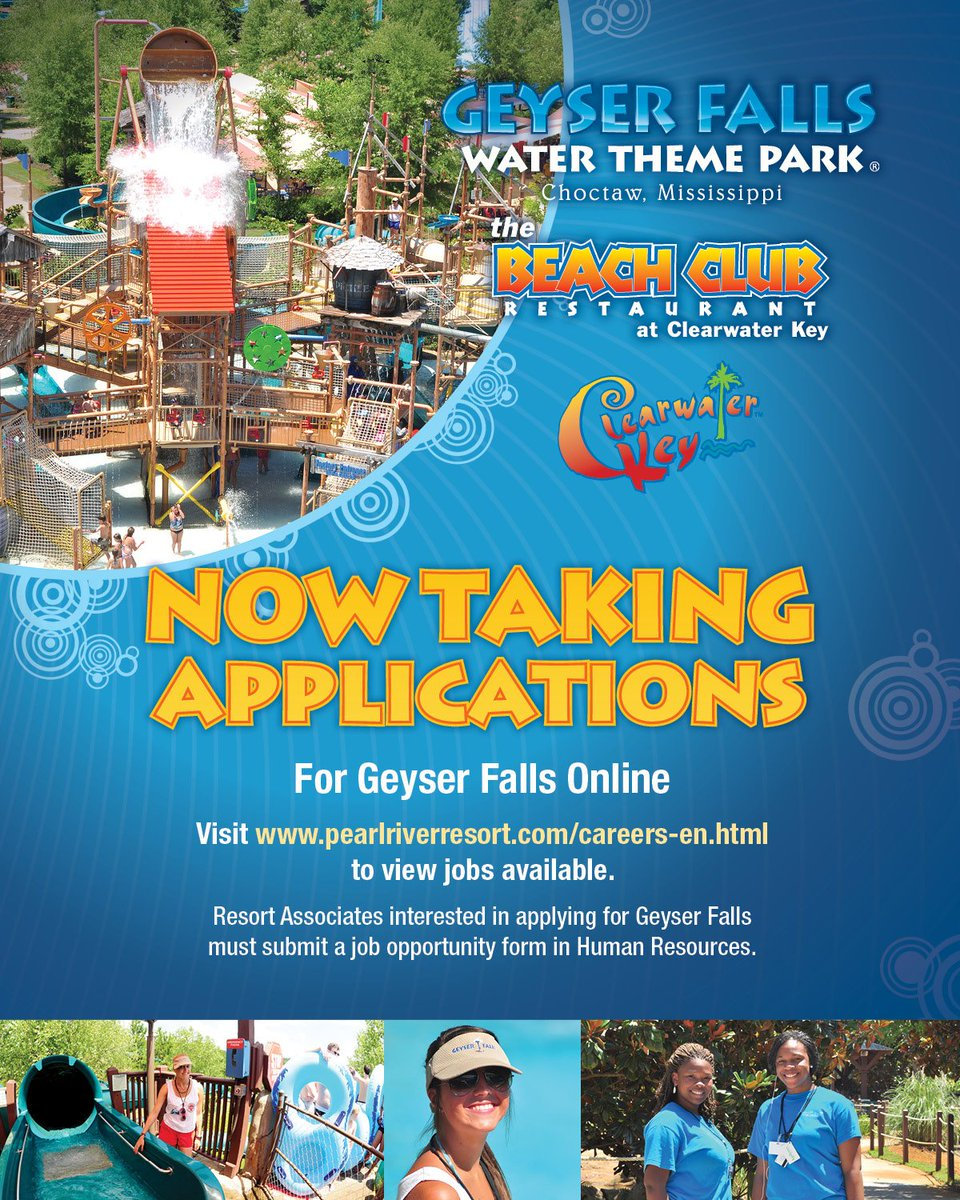 Pearl River Resort on Twitter Geyser Falls Water Theme Park is