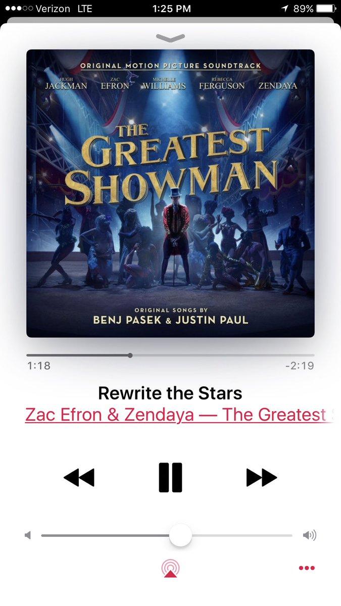 The song is herrreeee! ZxZ #RewriteTheStars @ZacEfron