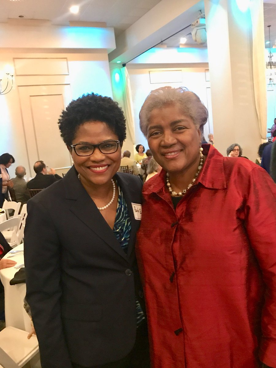 Celebrating with @IWONewOrleans during its annual luncheon. Enjoyed the keynote speaker,@donnabrazile! #iwoneworleans #donnabrazile #hacks #judgepaulabrown<br>http://pic.twitter.com/pj0cMaB4TG
