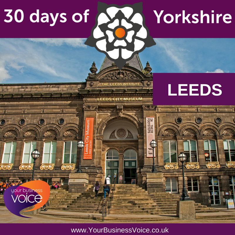 #YBV&#39;s #30DaysofYorkshire - Leeds - With a population of over 780k, Leeds is a business powerhouse. After the capital, #Leeds is the largest legal and financial centre in the UK. It will be the 2023 European Capital of Culture! Pictured is the Leeds City Museum. #YorkshireBiz <br>http://pic.twitter.com/bfXR33iFjh