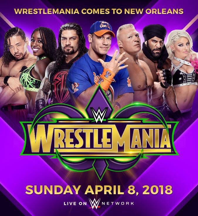 It&#39;s official, I&#39;ll be at #NOLA for the first time ever to witness @WrestleMania 34. See you all there! #WM34 #WrestleMania #LetTheGoodTimesRoll<br>http://pic.twitter.com/rfbVrCH9zr