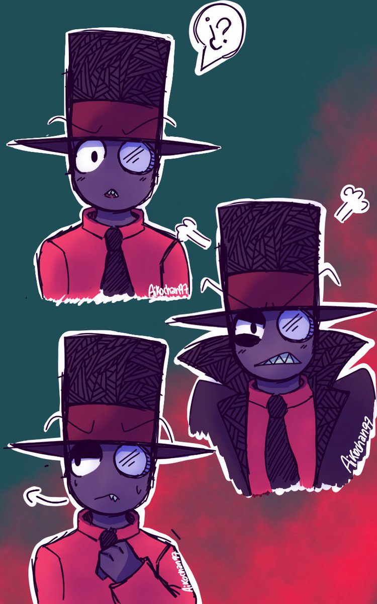 Aikochan97 On Twitter Black Hat Jr Villainous Blackhat