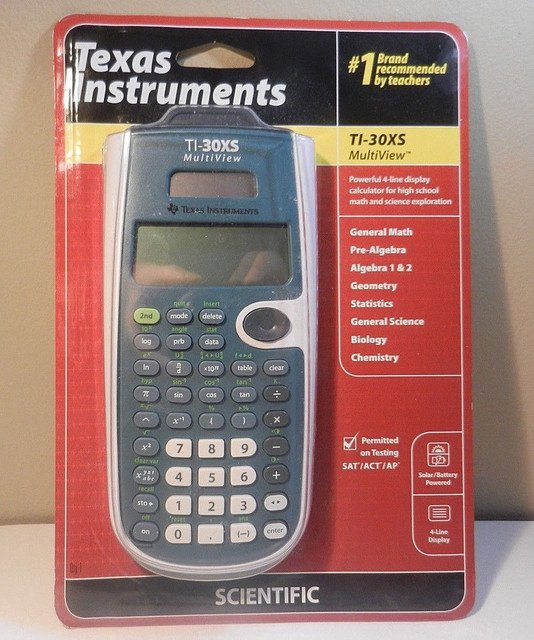 Check out New Texas Instruments TI-30XS MultiView Scientific Calculator #christmas #moms #retweet #electronics #wahm   http:// crwd.fr/2zcE8vS  &nbsp;  <br>http://pic.twitter.com/A4SoNO3xgs