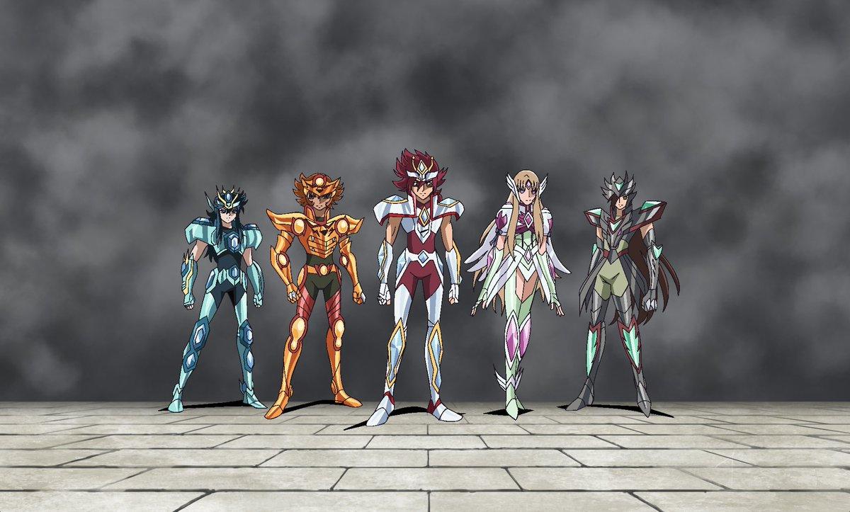 Our 'Justice League'. #SaintSeiyaOmega h...