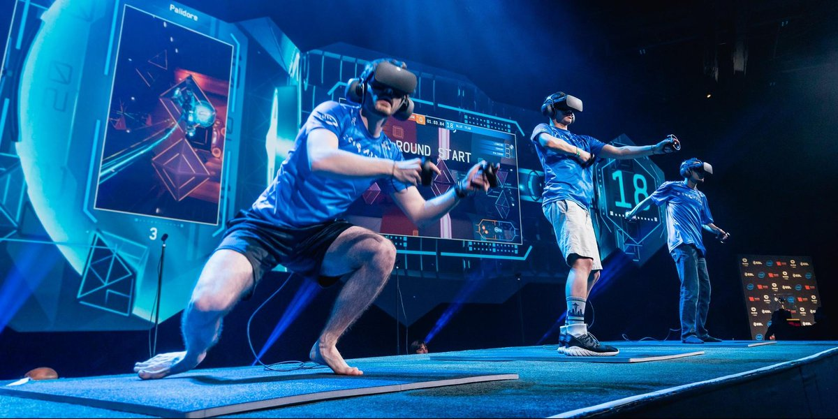 Not all esports games are played sitting down. See why advancing in VRChallenger League requires endurance &amp; high tolerance for pain.  http:// intel.ly/2zTQFBD  &nbsp;   #IEM  <br>http://pic.twitter.com/nFeSMiUv4T  http:// acsonline.be  &nbsp;   #informatique #bonplan #PC #Cdiscount #marketing #ecommerce #soci…