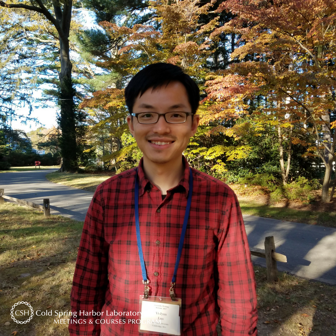 Meet @YJ_Luo of @HarvardOEB! Yi-Jyun recently joined @acoel_hofstenia&#39;s lab as a postdoc and is a returning #cshlalumni. He&#39;s back to attend the 2017 #ScientificWriting Retreat. Read our Q&amp;A here:  http:// bit.ly/2hB7RTY  &nbsp;   #cshlvisitor #cshlcourselife #scicomm<br>http://pic.twitter.com/SW40QDdJjQ