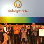 After a yearlong global competition, five finalists competed onstage at @Aging20's #A2OPTIMIZE for a $10,000 prize. The winner was @Unforget_org, a UK online marketplace of products and services for #dementia and #memoryloss. Congratulations!